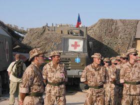 Сотрудники 7-го чешского военно-полевого госпиталя