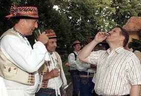 Mirek Topolanek (left) and Zdenek Skromach, photo: CTK