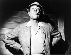 Jacques Tati dans 'Les Vacances de Monsieur Hulot'