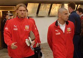 Radoslav and Milan Baros, photo: CTK