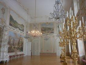Lustry interiéru zámku vBruntále