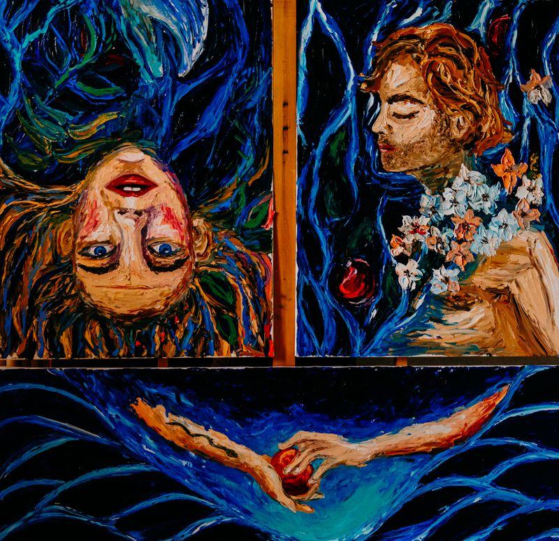 Адам и Ева, фото: Виктория Гавриленко