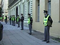 Police presence during the International Monetary Fund Annual Meetings 2000