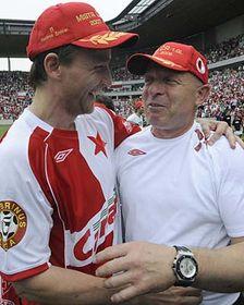 Vladimír Šmicer and Karel Jarolím, photo: CTK