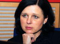 Věra Jourová, photo: Šárka Ševčíková / Czech Radio