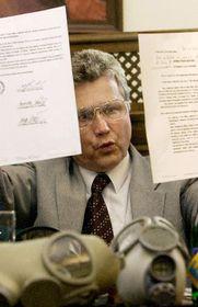 Jindrich Vaculin de Gumárny Zubrí, foto: CTK