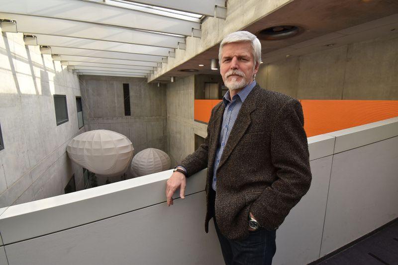 Petr Pavel en Radio Praga, foto: Ondřej Tomšů