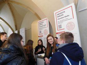 День открытых дверей в пражском Каролинуме, Фото: Лорета Вашкова