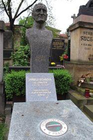 Grab von Josef Bican (Foto: Kristýna Maková, Archiv des Tschechischen Rundfunks - Radio Prague International)