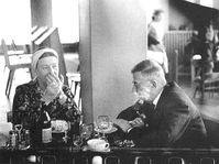 Simone de Beauvoir et Jean-Paul Sartre, photo: Antanas Sutkus