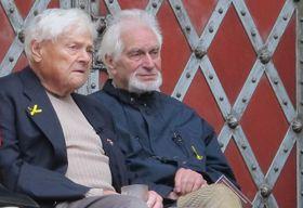 Jiří Brady (a la izquierda), foto: Kristýna Maková, Archivo de ČRo - Radio Praga