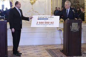 Ян Ванек и Милош Земан, фото: ЧТК/Ондржей Демл