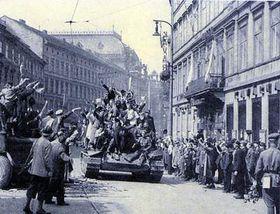 Красная армия в Праге, май 1945 г.
