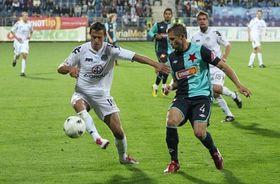 Slovácko contra el Slavia Praga, foto: ČTK