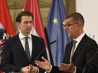 Sebastian Kurz und Andrej Babiš (Foto: ČTK / Michal Krumphanzl)
