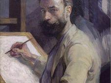 'Autorretrato' de František Kupka