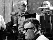 Съемки «30 случаев майора Земана», 1979 г., Владимир Брабец (слева) и Иржи Секвенс, Фото: ЧТК