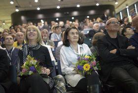 Milena Vicenová, Eva Holubová, Michal Horáček, foto: ČTK