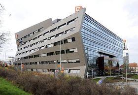 Edificio de ČEZ, foto: ČTK