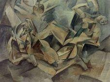 Картина Эмиля Филлы «Две жены»