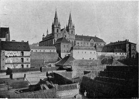 Эмаузский монастырь в начале 20-го века, фото: Общественное достояние