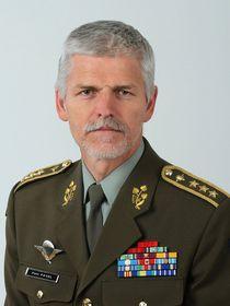 El general checo, Petr Pavel, presidente del Consejo Militar de la OTAN, foto: Ejército Checo