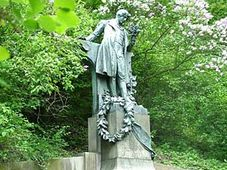 Estatua de Karel Hynek Mácha (Foto: CTK)