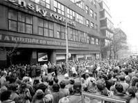 November 1989, Prague, photo: archive of Czech Radio
