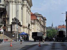 Съемки фильма Anthropoid, Фото: Филип Яндоурек, Чешское радио
