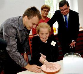 Madeleine Albright, foto: ČTK