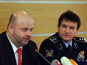Martin Pecina y Oldřich Martinů, foto: ČTK