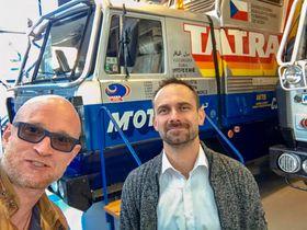 Петр Голечек и Марек Гавличек, фото: Tatra 2, Facebook