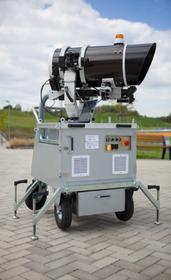 Přístroj pro dálkové chemické analýzy, foto: Archiv Mezinárodního strojírenského veletrhu vBrně