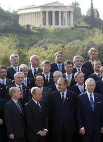 Владимир Шпидла и представители европейский стран в Афинах (Фото: ЧТК)