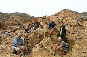 L'expédition paléontologique Gobi 06-09, photo: CTK