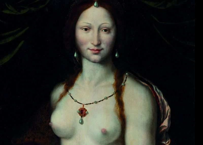 'La Joconde nue'de Joos van Cleve, photo: Galerie nationale de Prague