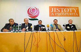 Sesión del Partido Socialdemócrata (Foto: CTK)