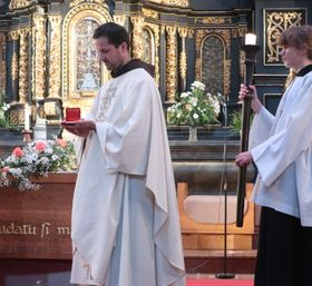 Odoric of Pordenone relic was delivered to the Church of Our Lady of the Snows, photo: Zdeňka Kuchyňová