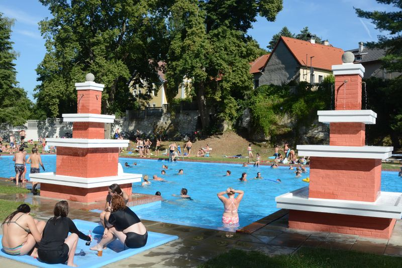 El balneario de Mšeno , foto: Eva Turečková