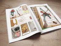 El libro de cómics de unos 60 estudiantes, foto: Facultad de Informática de la Universidad Masaryk de Brno