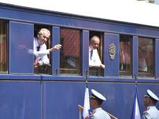 Miloš Zeman, Andrej Kiska, photo: ČTK/Václav Šálek