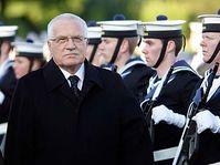 Václav Klaus en Irlanda (Foto: CTK)