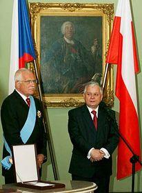 Václav Klaus y Lech Kaczynski (Foto: CTK)