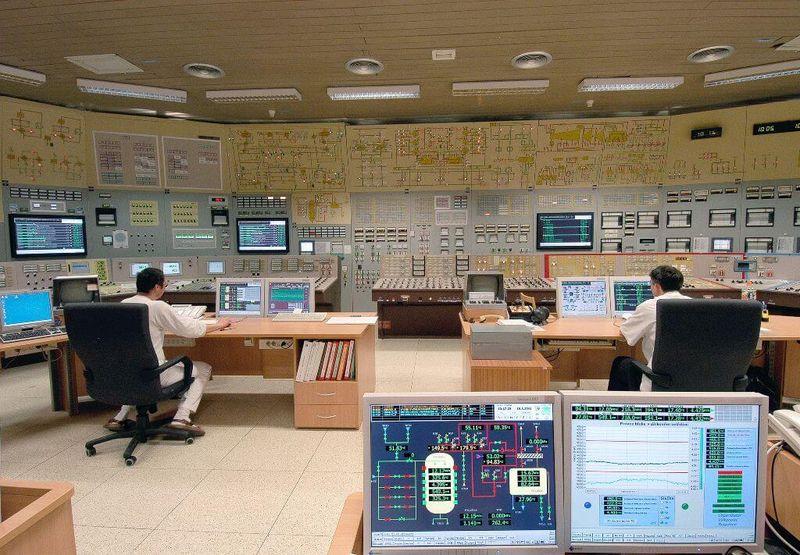 Jaderná elektrárna Dukovany, foto: archiv ČEZ