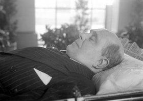 Jan Masaryk, pohřeb; foto: ČTK
