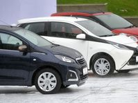 Toyota Aygo, Peugeot 108, Citroën C1, photo: CTK