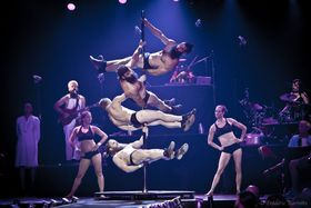 Cirque Alfonse, 'Barbu', photo: Frédéric Barrette / Site officiel du festival Letní Letná