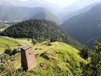 Tusheti en Georgia, foto: Alsandro, Creative Commons 3.0