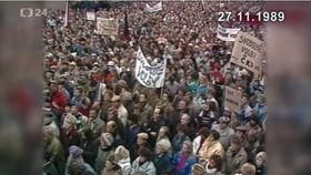 La Revolución de Terciopelo, foto: ČT24