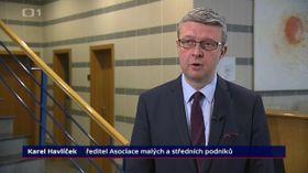Karel Havlíček (Foto: Tschechisches Fernsehen)